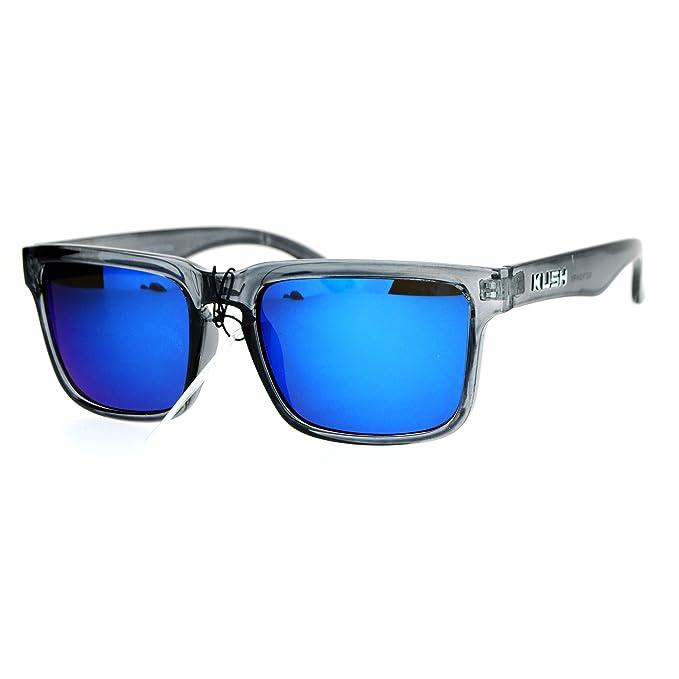 Amazon.com: Kush - Gafas de sol para hombre con montura de ...