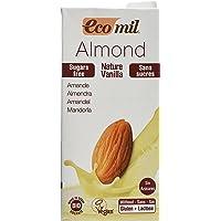 ecomil Lait nature ungesüßt Vanille Amande–1L Lait d'Amande bio, vegan