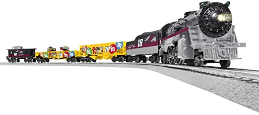 Lionel Nascar Train Set at RCSLOT - YouTube