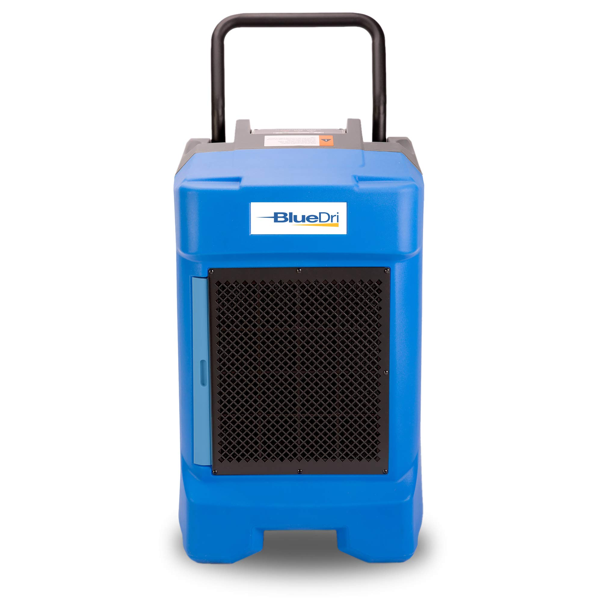 BlueDri BD-130P 225PPD Industrial Commercial Dehumidifier with Hose for Basements in Homes and Job Sites Blue