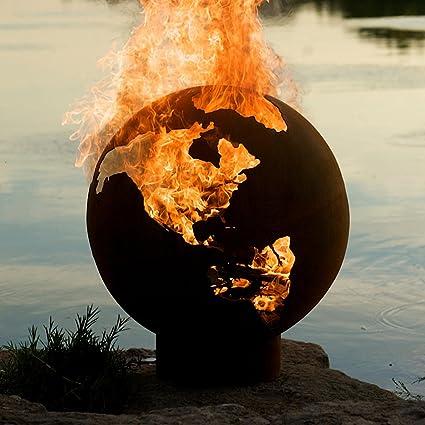 Third Rock Fire Pit - Amazon.com : Third Rock Fire Pit : Fire Pit Globe : Garden & Outdoor