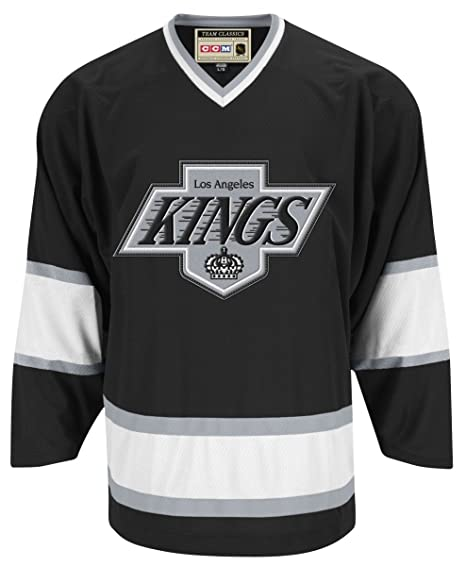 Amazon.com   Los Angeles Kings CCM Reebok NHL Vintage Premier Black ... 5c7d9f4b5a1