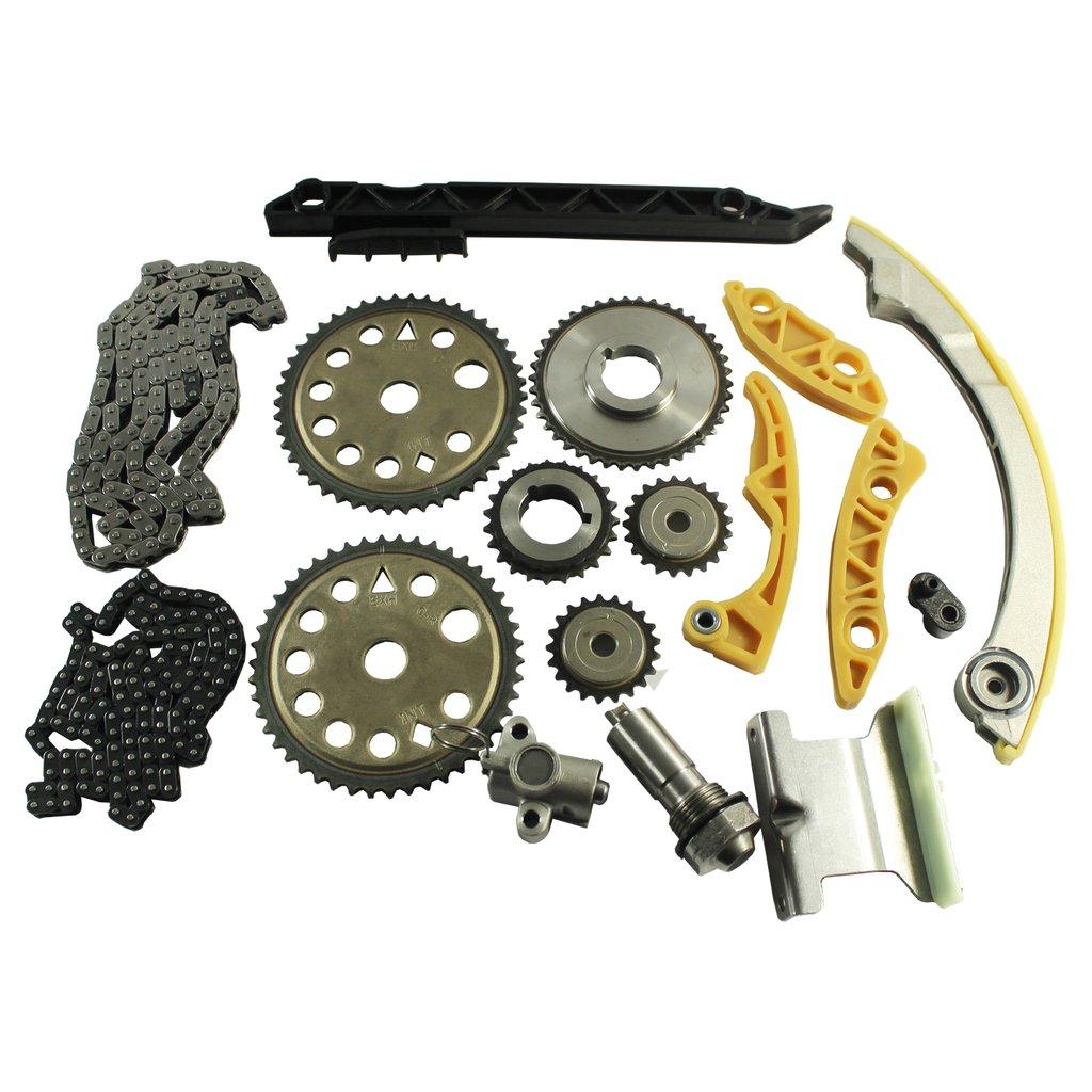 JDMSPEED New 00-11 GM 2.0L 2.2L 2.4L Ecotec Engine Timing Chain Kit W/Balance Shaft Set L61