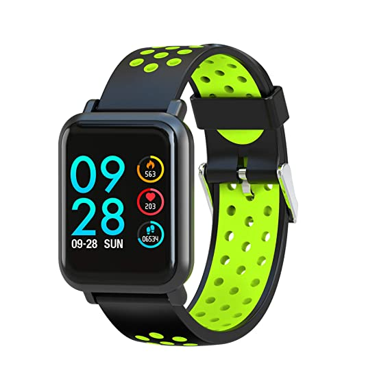 Leotec MultiSport Helse - Smartwatch, color verde: Amazon.es: Electrónica