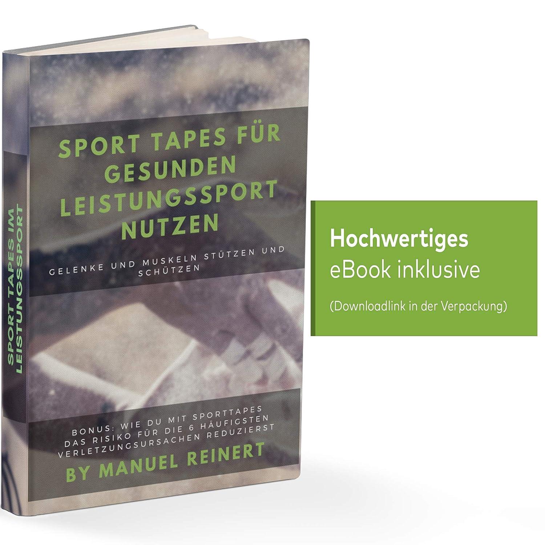 Strap Sport Rouge-Bleu kin/ésiologie Igoera Finger Tape 3,8 cm x 10 m Strapping athl/étique 100/% Coton Ruban Sport adh/ésif 2 Rouleaux Bandes de Soutien analg/ésiques