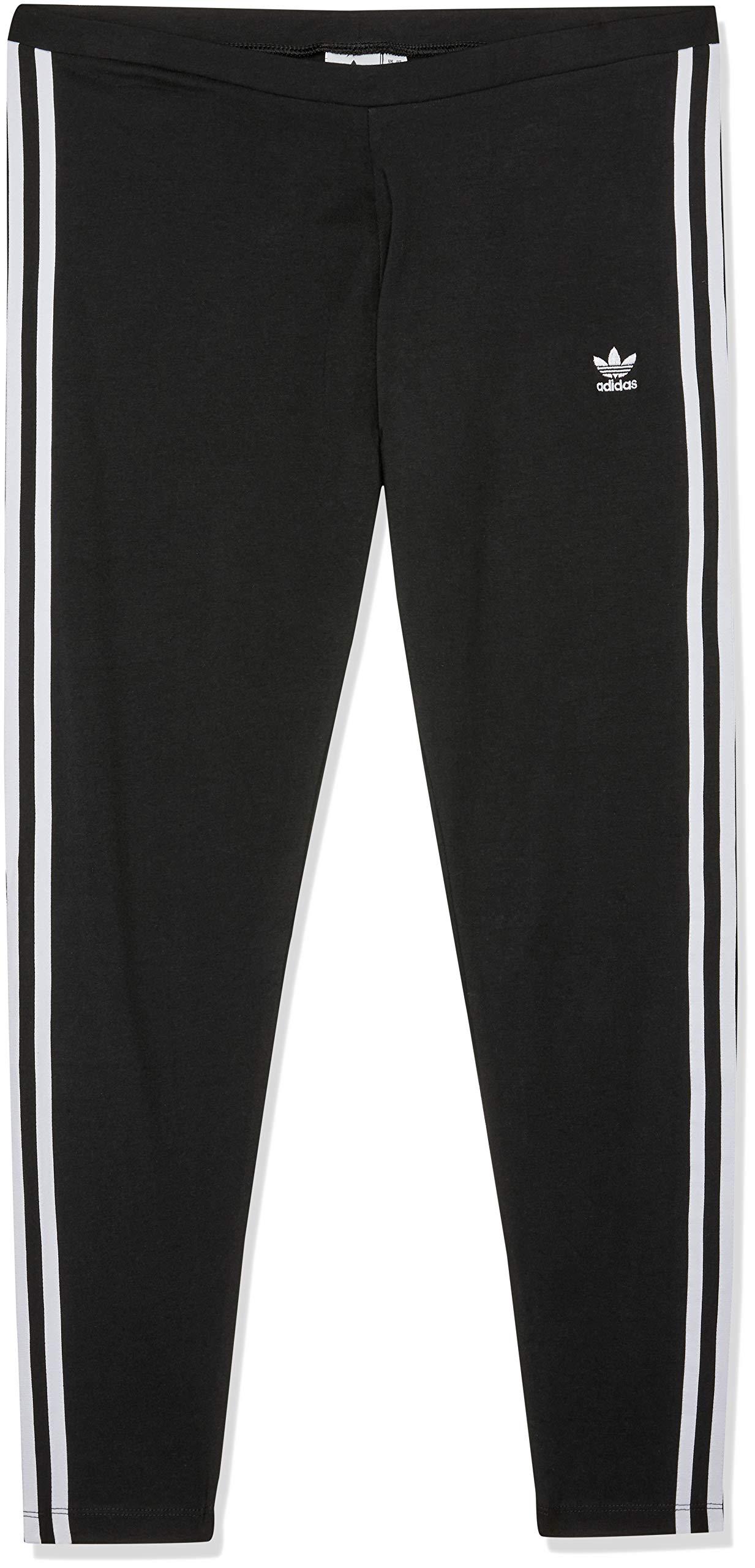 adidas Originals 3 Stripe Leggings 14 Reg Black