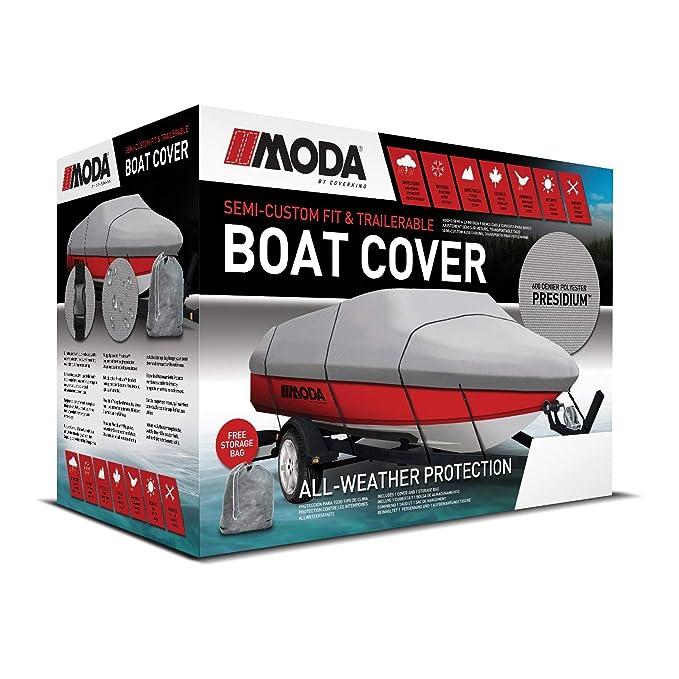 Amazon com: Coverking UBC03 Semi-Custom Trailerable Boat