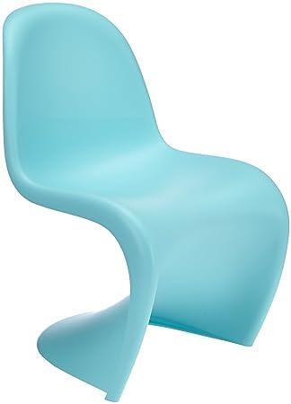 vitra panton chair junior light blue amazon co uk kitchen home