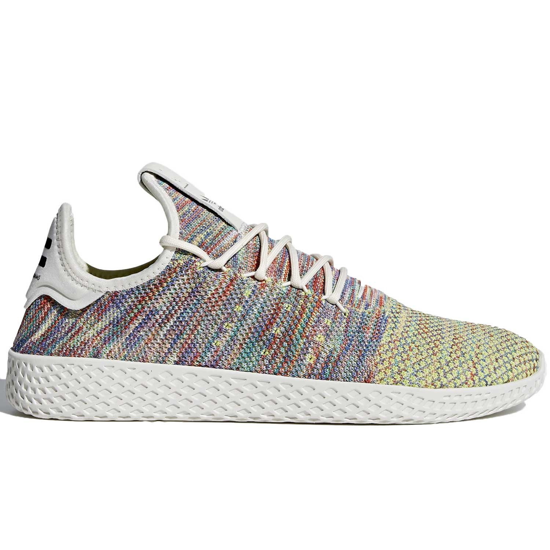 adidas Men's Pw Tennis Hu Sneaker B079ZNBDGH 5 M US|Multi Color/White