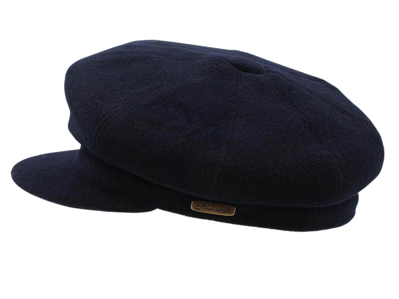 Sterkowski da uomo 8 quarti Newsboy berretto di lana MST-KOL-W00