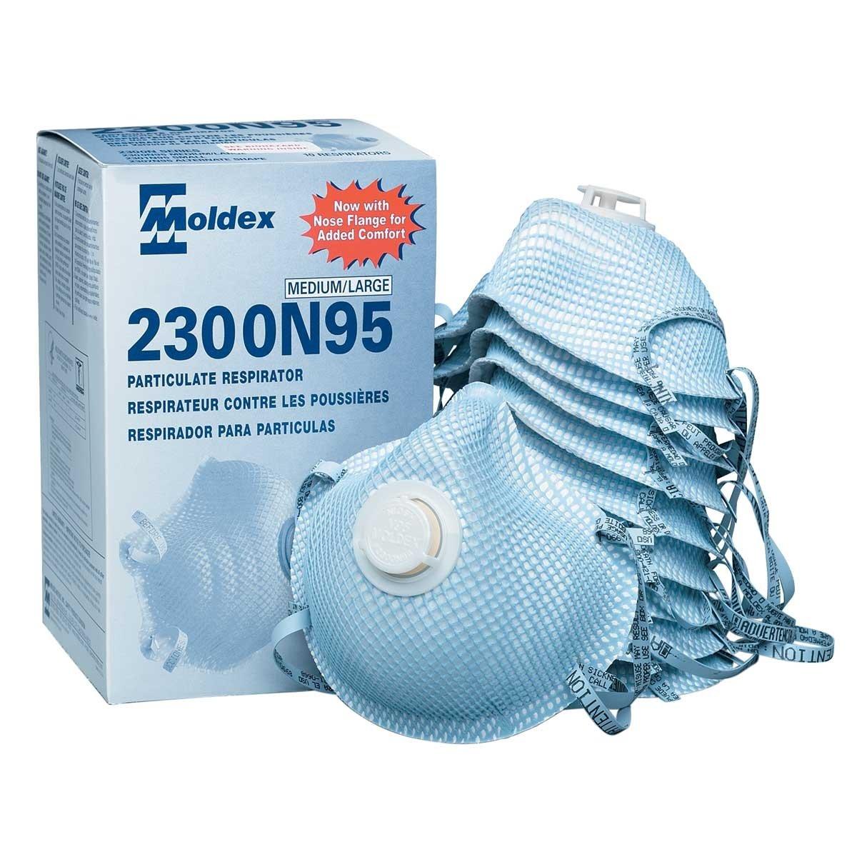 Moldex 2300N95 Particulate Respirator (1 case-