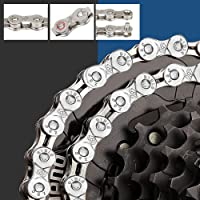 BUZIFU 6/7/8-Speed Fietsketting 116 Link Chain Plating Fiets Kettingen Staal Hoge Sterkte Fiets Derailleur Ketting Anti…