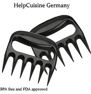 HelpCuisine Garras de carne/garras de oso/Trinchadores, Tenedores de carne Barbacoa,