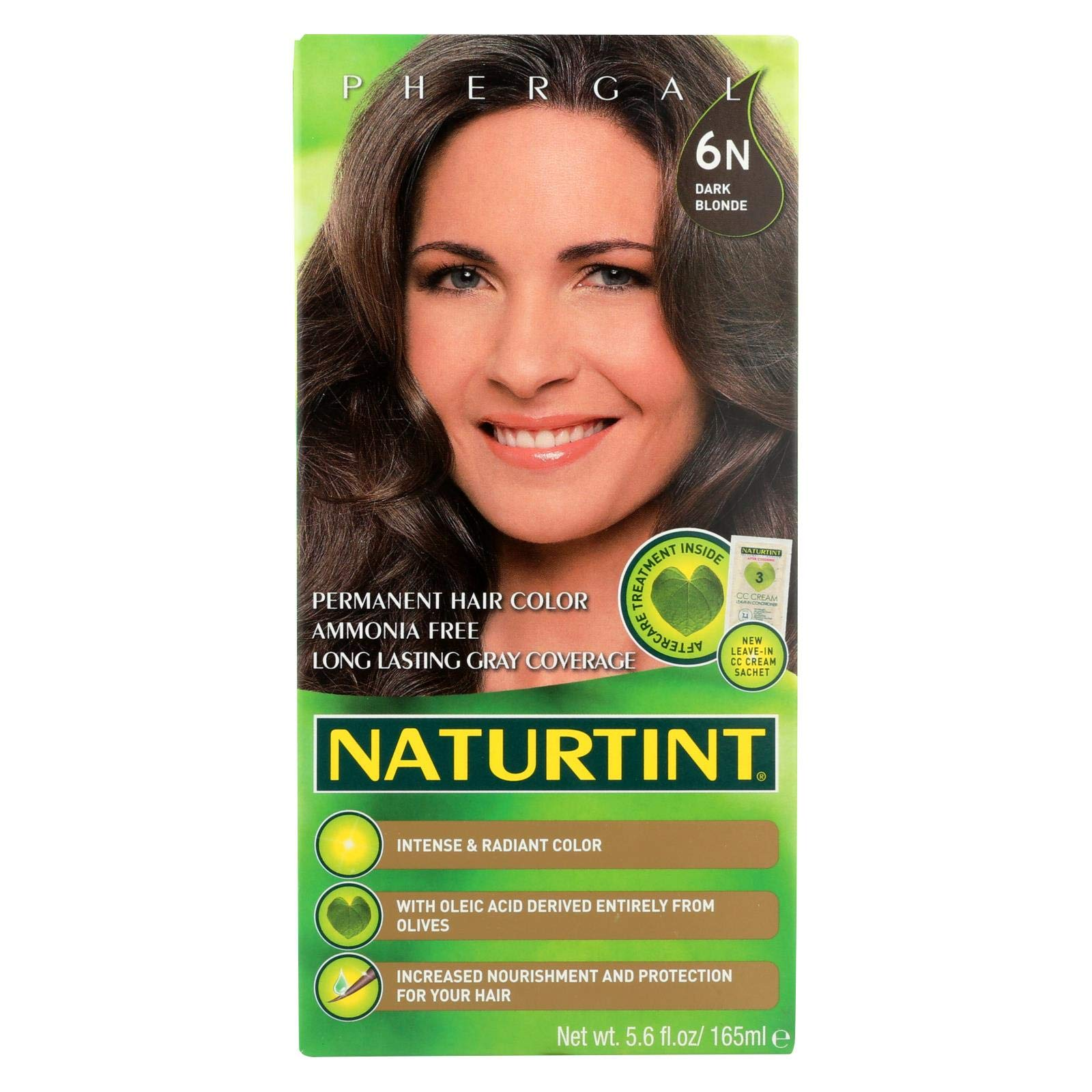 Naturtint Hair Color - Permanent - 6N - Dark Blonde - 5.28 oz (Pack of 4) by Naturtint