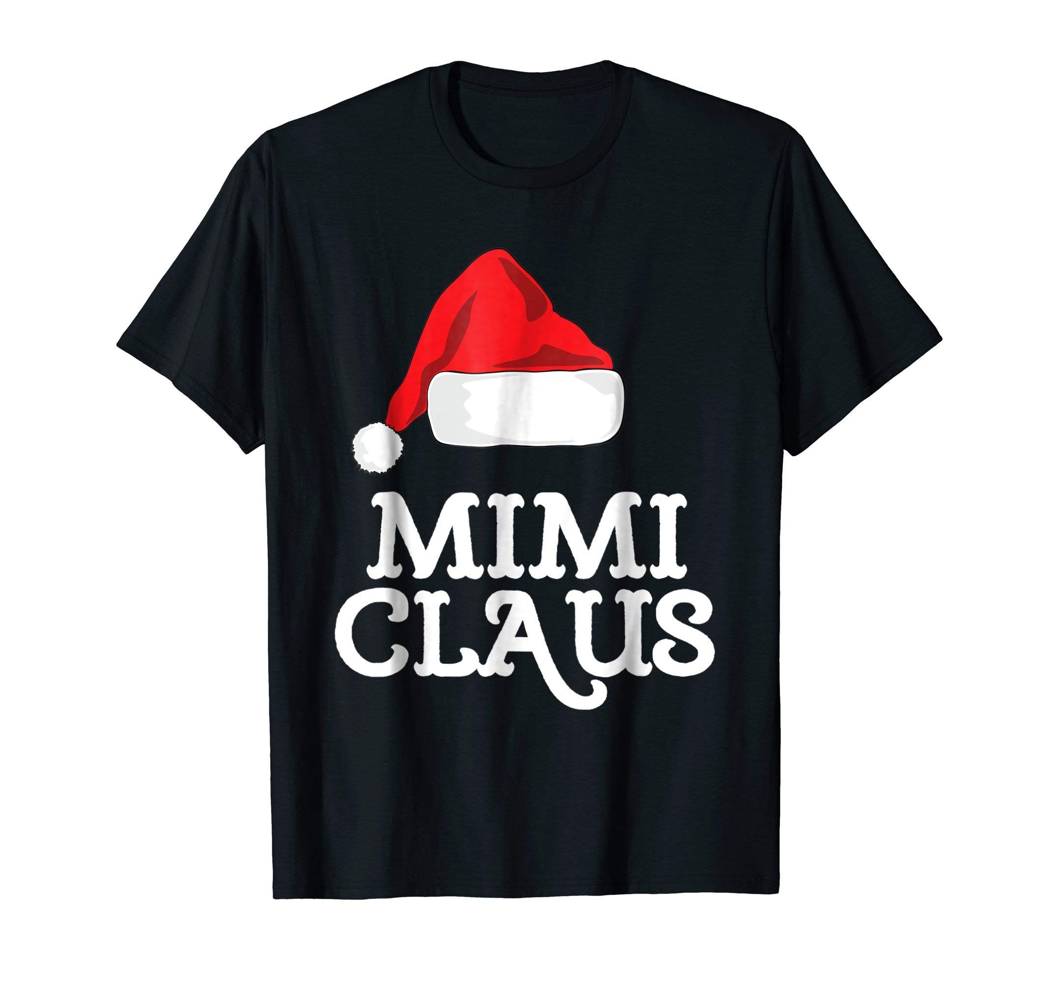 Mimi Claus Christmas Family Matching Pajama Hat T-Shirt 044aee09e