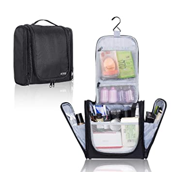 2e1bbffa3eac AUSQI Deluxe Hanging Toiletry Bag: Travel Toiletry Organizer Bag for Home,  Trips, Hotel