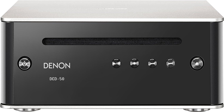 Denon CD Player Home, Black (DCD50SP)