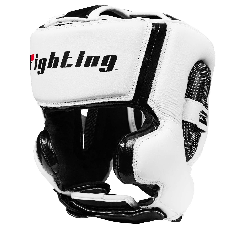 Fighting Fighting Sports s2ジェルトレーニングHeadgear Sports Large ホワイト/ブラック Large B00A7BS0DG, ステンレスアートG-1:61ab72ab --- capela.dominiotemporario.com