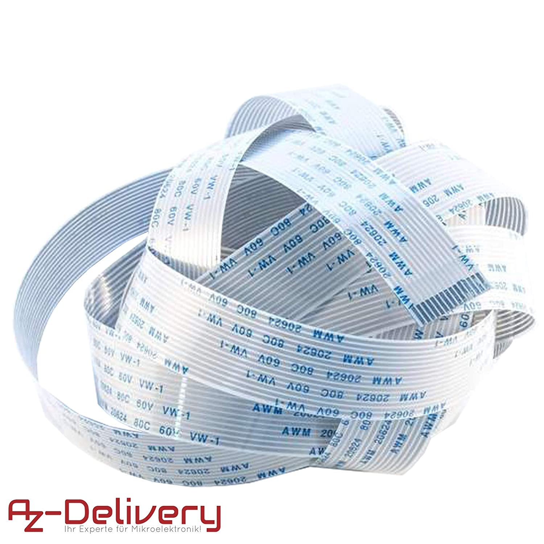 Pantalla con ebook gratis! AZDelivery ⭐⭐⭐⭐⭐ 3 x cable de cinta flexible de repuesto Flex Cable 15 cm para Raspberry Pi C/ámara