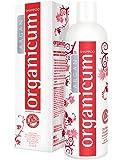 organicum Argan Shampoo für gefärbtes Haar 350ml mit Hydrosolkomplex gegen trockene Kopfhaut und Juckreiz – ohne Silikone, Glycerin und Alkohol