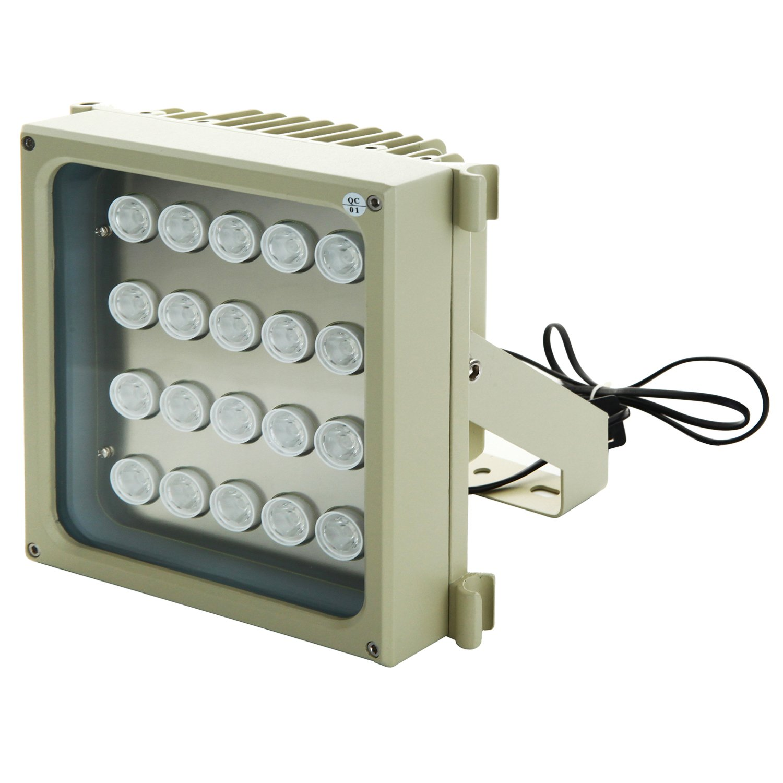 超ハイパワー赤外線ライト S20D-IR 850nm 照射距離300メートル 照射角30度 2Wの強力LEDを20個搭載した業務用赤外線投光器 IP66防水防塵 明るさセンサーで自動点灯 防犯監視カメラ用 セキュリティ ナイトショット暗視撮影用照明 IRライト LED 軽量強靭なアルミ合金筐体 屋外アウトドア対応長距離型 B0761TPG84 24800