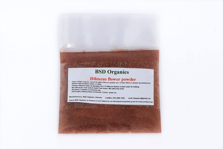 Bsd organics hibiscus flower powder for face skin hair care 30 bsd organics hibiscus flower powder for face skin hair care 30 gms amazon health personal care izmirmasajfo