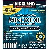 Kirkland Signature Minoxidil 5 percentage Extra Strength Hair Loss Regrowth Treatment Men