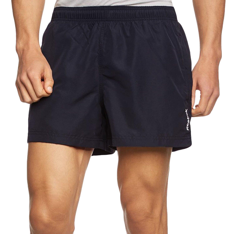 Reebok Mens Regular Fit Swim Shorts - Navy