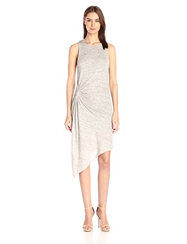 b8cac902d089 Amazon.com  KENDALL + KYLIE Women s Asymmetric Ruched Dress  Clothing