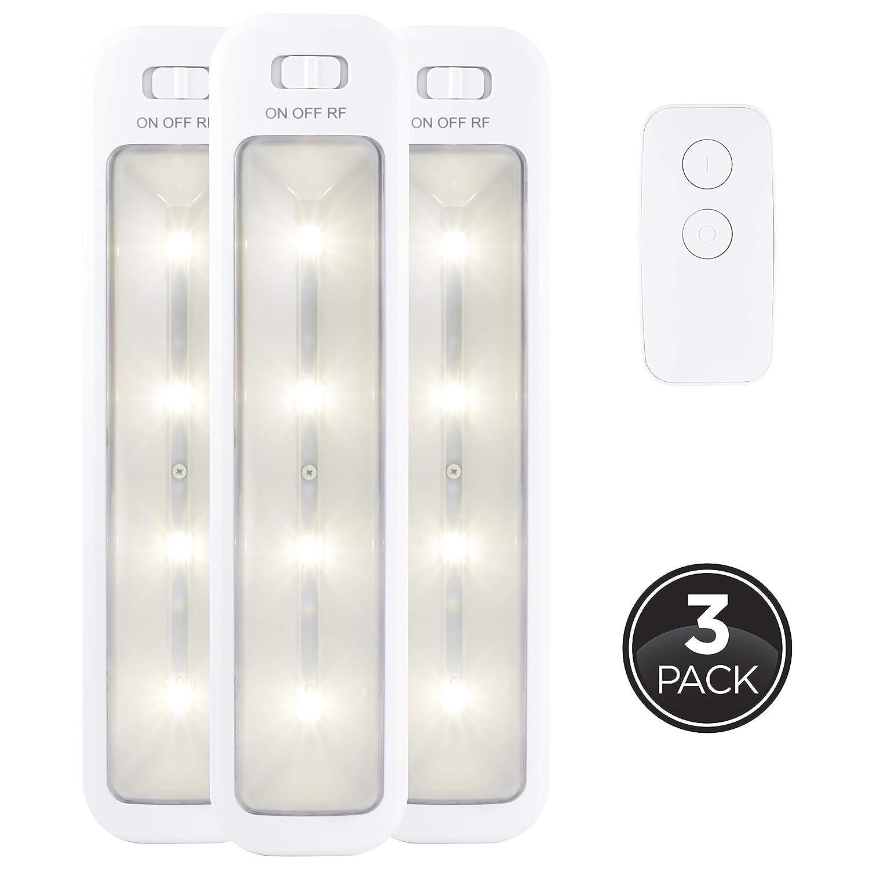 GE 38558 Wireless Remote LED Light Bars (3 Pack)