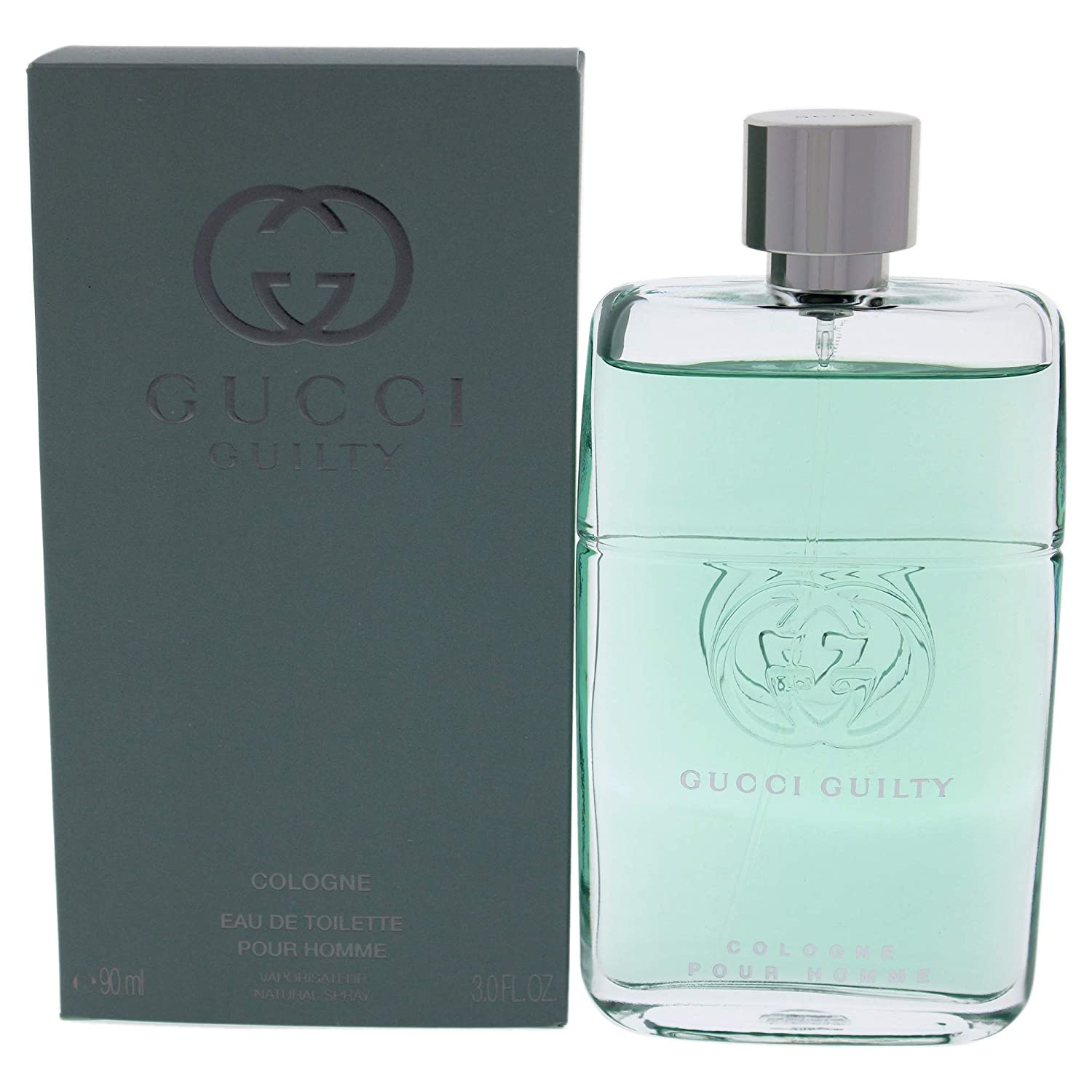 Gucci Guilty Cologne by Gucci for Men - 3 oz EDT Spray, clear