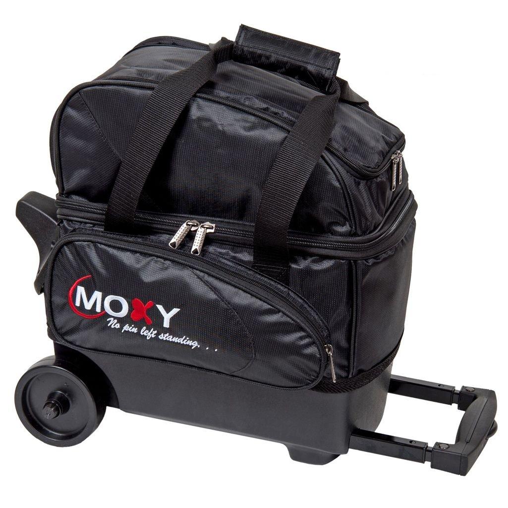 Moxy Singleデラックスローラーボーリングバッグ B00TGV4QH2 ブラック ブラック