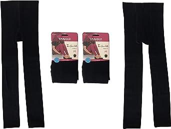 Comodi Morbidi e Coprenti Tinta Unita Yanoir 2 Paia Di Collant Senza Piede Leggings Termici Felpati Caldi Moda Bambina Ragazza
