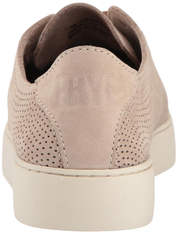 FRYE Women's Lena Perf Low Lace Sneaker B074QTC5HH 8 B(M) US Taupe