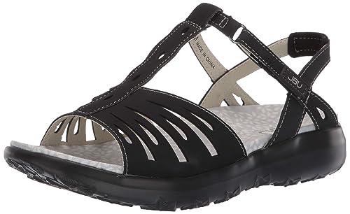 7a2f320da17f6 Amazon.com | JBU by Jambu Women's Melon Sandal Flat | Flats
