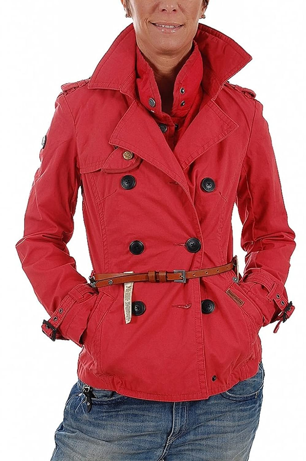 Khujo damen jacke fem with belt & ij