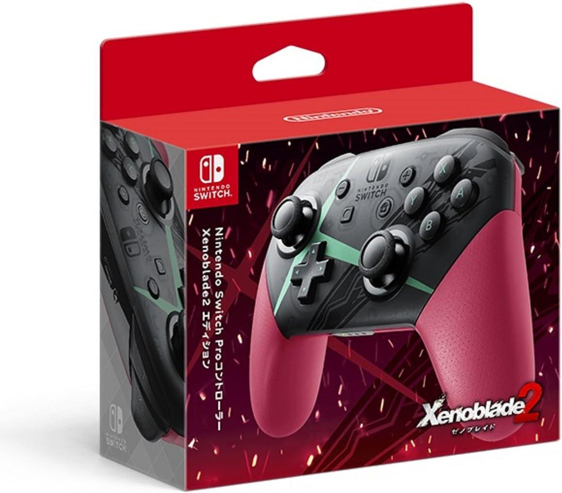 Nintendo Switch Pro Controller Xenoblade 2 Edition [Switch] import japon [video game]: Amazon.es: Videojuegos
