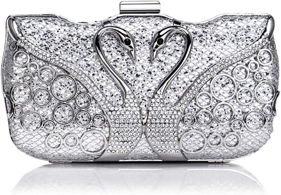 Beautiful Animal Print Ladies Handbag with Matching Purse Gift Set Silver