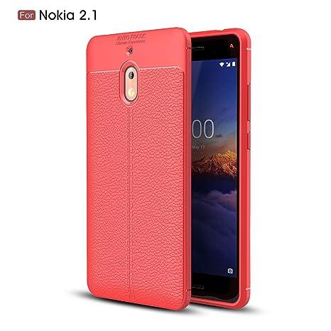 Amazon.com: Scheam - Carcasa para Nokia 2.1 (delgada ...