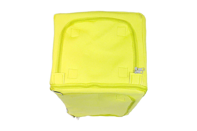 LUMEHRA Flex Bag Large Carryall Neoprene Expandable Duffel Bag Blue