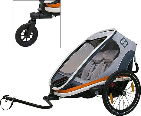 HAMAX Outback Remolque Bicicleta Blanco: Amazon.es: Deportes ...