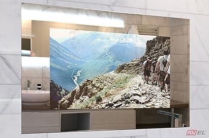 32u0026quot; Mirror TV For Living Room/Bathroom/Shower/Kitchen, AVEL AVS320FS
