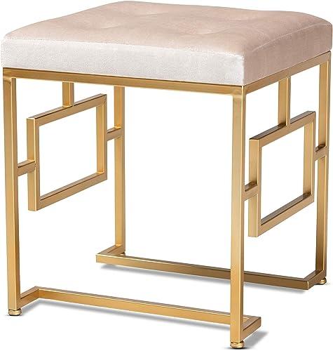 Best ottoman chair: Baxton Studio Ottomans