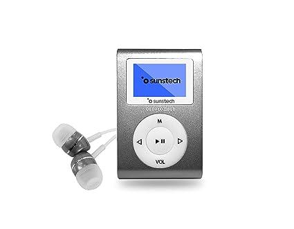 Sunstech DEDALOIII8GBGY - Reproductor MP3 con Pinza de sujeción ...