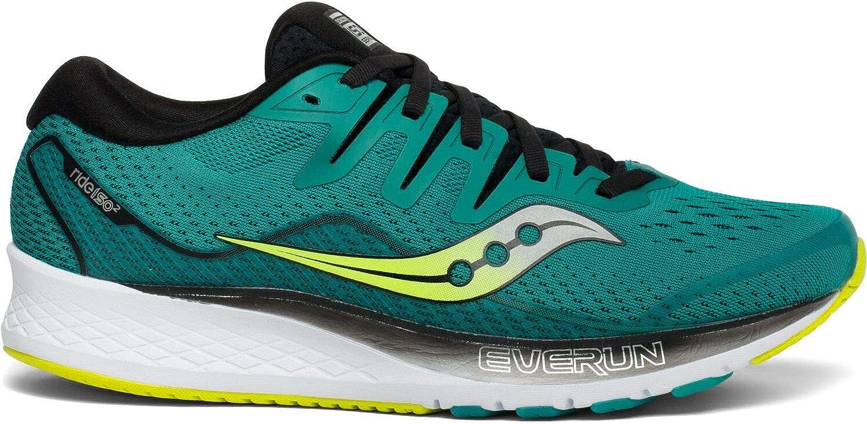 Saucony Ride ISO 2, Zapatillas de Running para Hombre, Verde (Verde 37), 41 EU