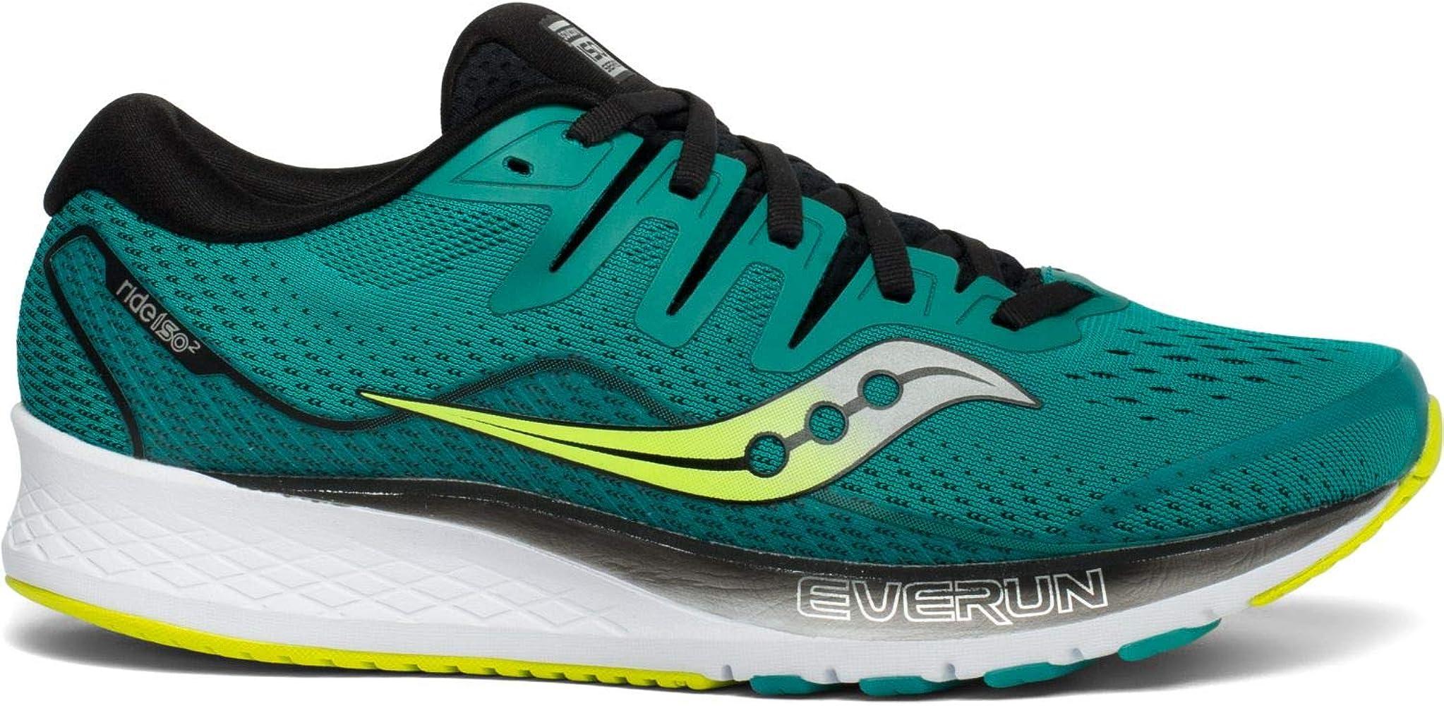 Saucony Ride ISO 2, Zapatillas de Running para Hombre, Verde Verde ...
