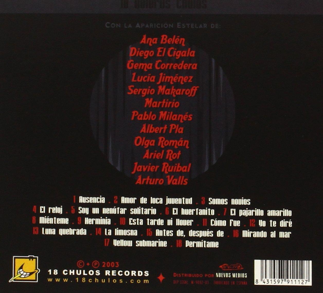 - 18 Boleros Chulos - Amazon.com Music