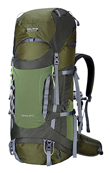 Amazon Bolang Outdoor Intenal Frame Backpacks Waterproof Hiking