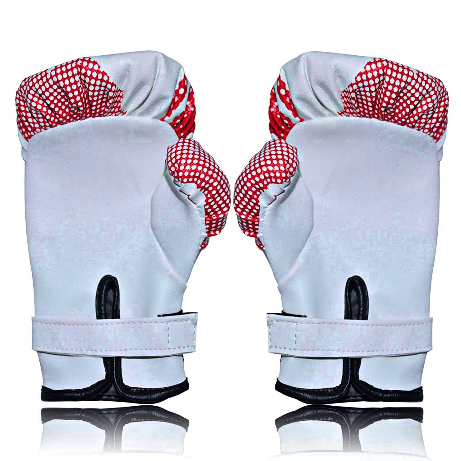 Training Bag Mitts Red//White Boxing Gloves Mico Hide leather size 2 oz New junior Boxing Gloves Sparring