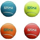 Outward Hound Squeaker Ballz Fetch Dog Toy, Small- 4 Pack
